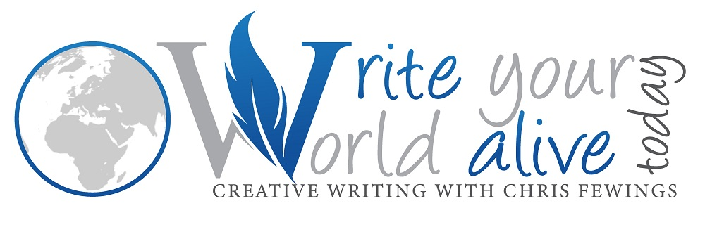 Write your world alive today (logo)